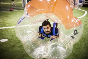 bubble football lisboa
